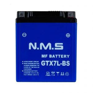 باتری موتور سیکلت 7 آمپر بلند NMS