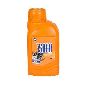 روغن ترمز زرد شرکتی ایساکو 250 ml