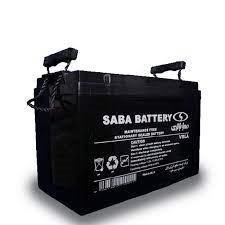باتری 100 آمپر 12 ولت صبا ups