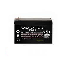 باتری 7.5 آمپر 12 ولت صبا ups