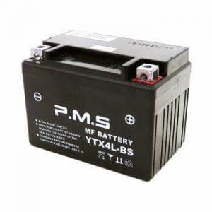 باتری موتور سیکلت 4 آمپر کوتاه NMS