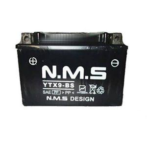 باتری موتور سیکلت 9 آمپر بلند و کوتاه NMS