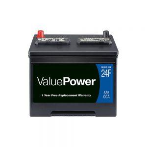 باتری اتومبیل سرب اسید ValuePower ، گروه 24F