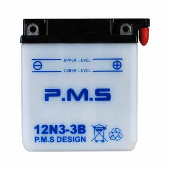 باتری موتور سیکلت 3 آمپر pms